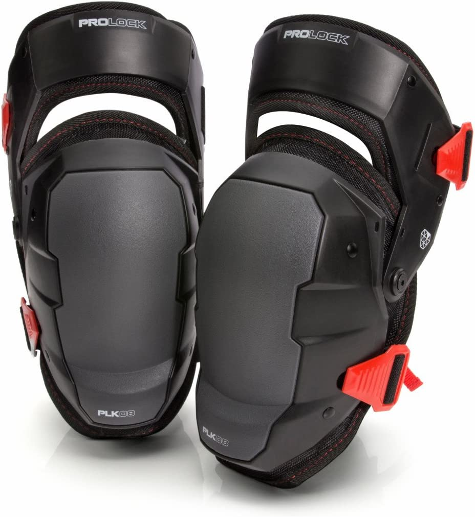 Impact-Absorbing Gel Knee Pads by PROLOCK