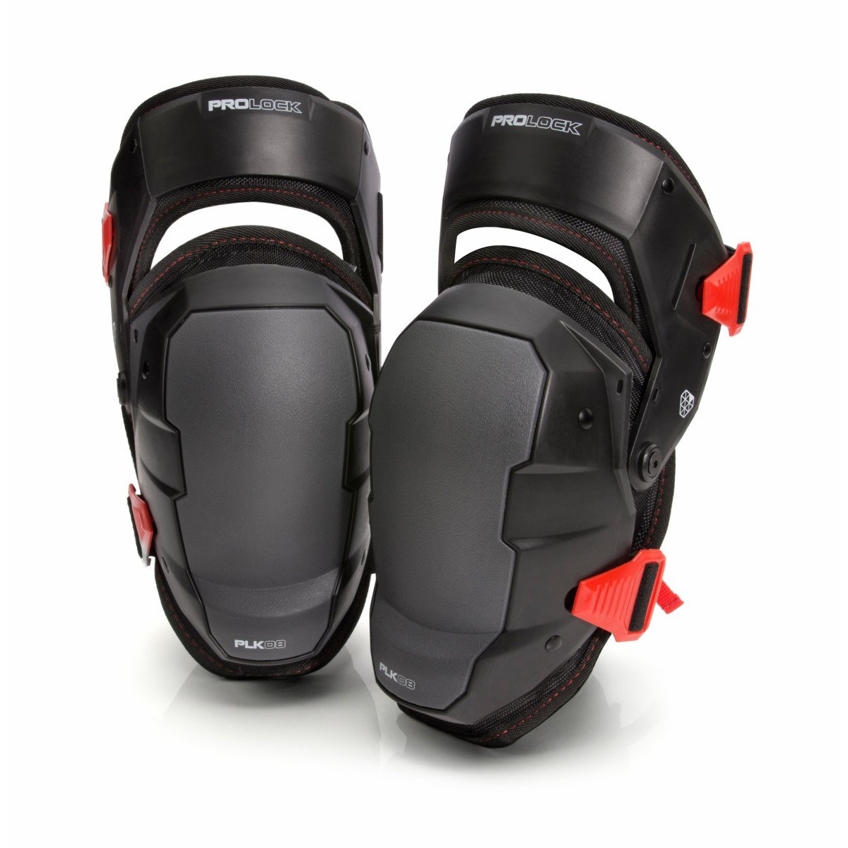 Impact-Absorbing Gel Knee Pads with Thigh Stabilization by Prolock, Ideal for Flooring/Roofing, Adjustable (1 pair) by PROLOCK