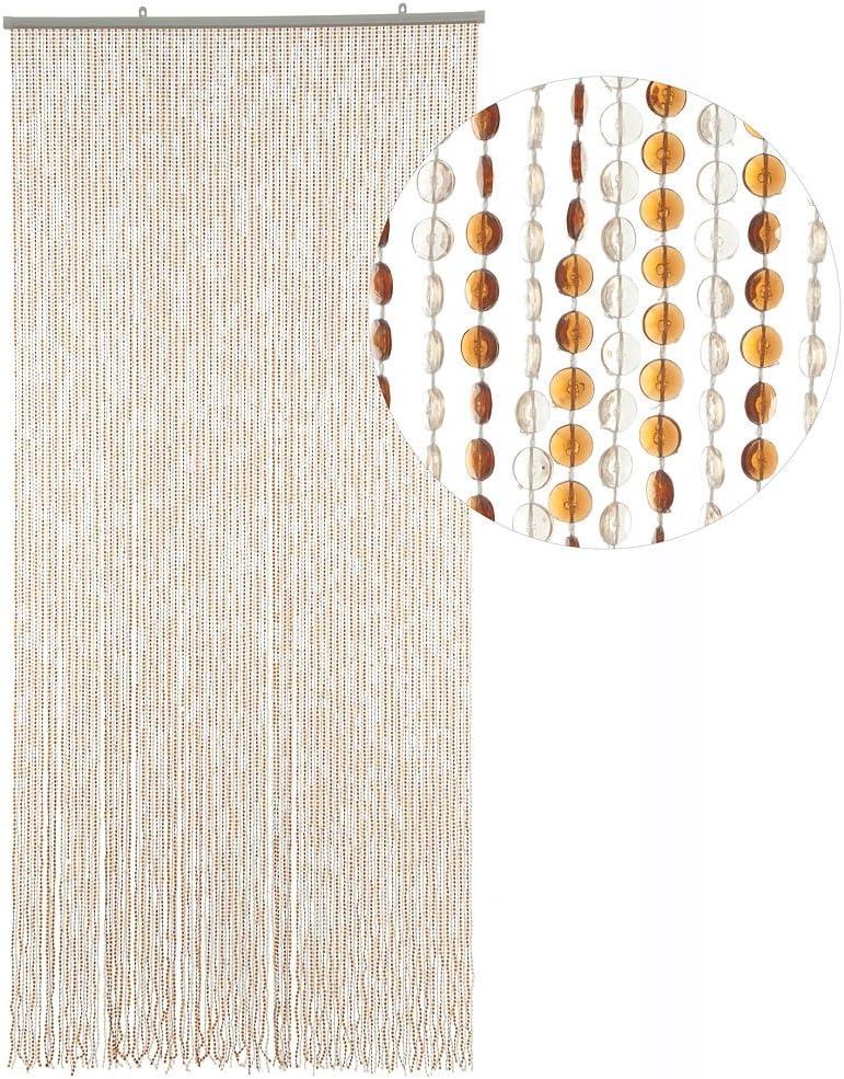 Insektenschutz Perlen Pailettenvorhang 100x220 XL sehr dicht HAB /& GUT T/ürvorhang Mini-DIAMANTEN klar