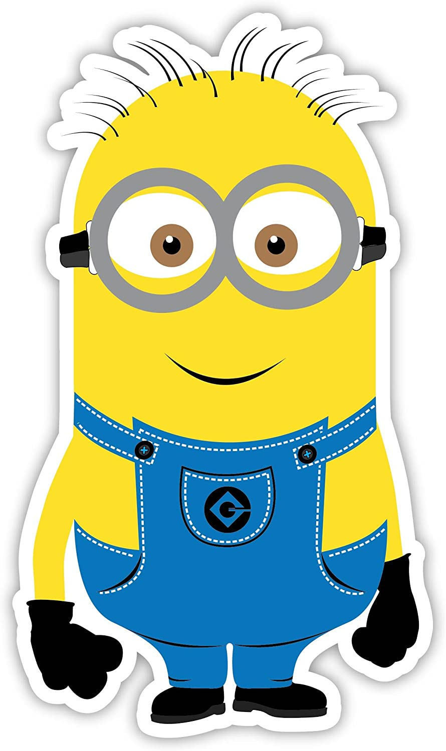 Amazon Com Minion 3 X5 Sticker Decal Vinyl Cartoon Kids Automotive
