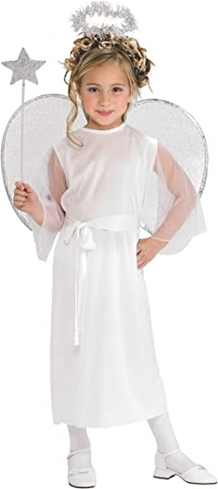 Rubies 881931L - Disfraz de ángel para niña: Amazon.es: Juguetes y ...