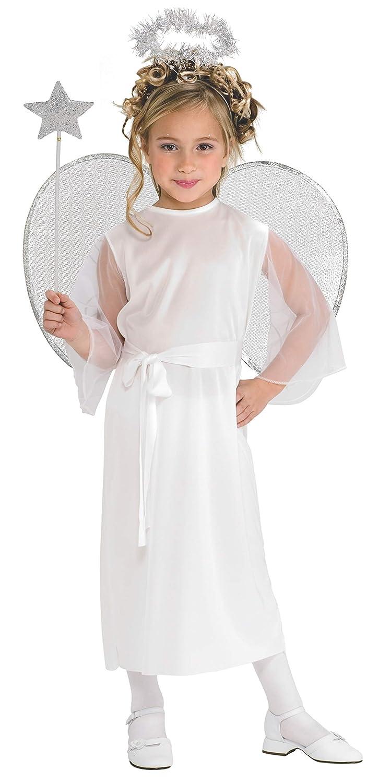 Rubies 881931S - Disfraz de ángel para niña (3 años)