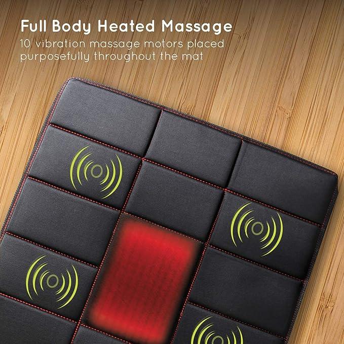 Homedics - Colchoneta de masaje para todo el cuerpo: Amazon.es: Salud y cuidado personal