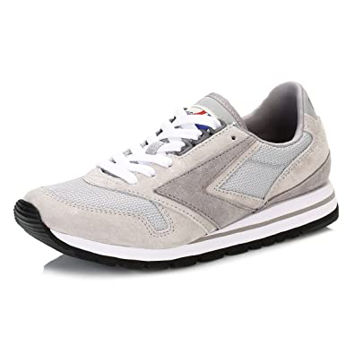 Brooks Athletic Damen Athletic Brooks Grau Weiß Chariot Sneakers  Amazon   Schuhe ... e797b5