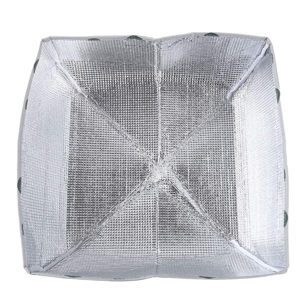 Bleu Vert Grand LoveAloe 1 Pcs Couvercle Riz Couvert Alimentaire Hiver Isolation Couvercle Pliable Aluminium Feuille Couvercle Alimentaire Isol/é Imperm/éable /À Leau