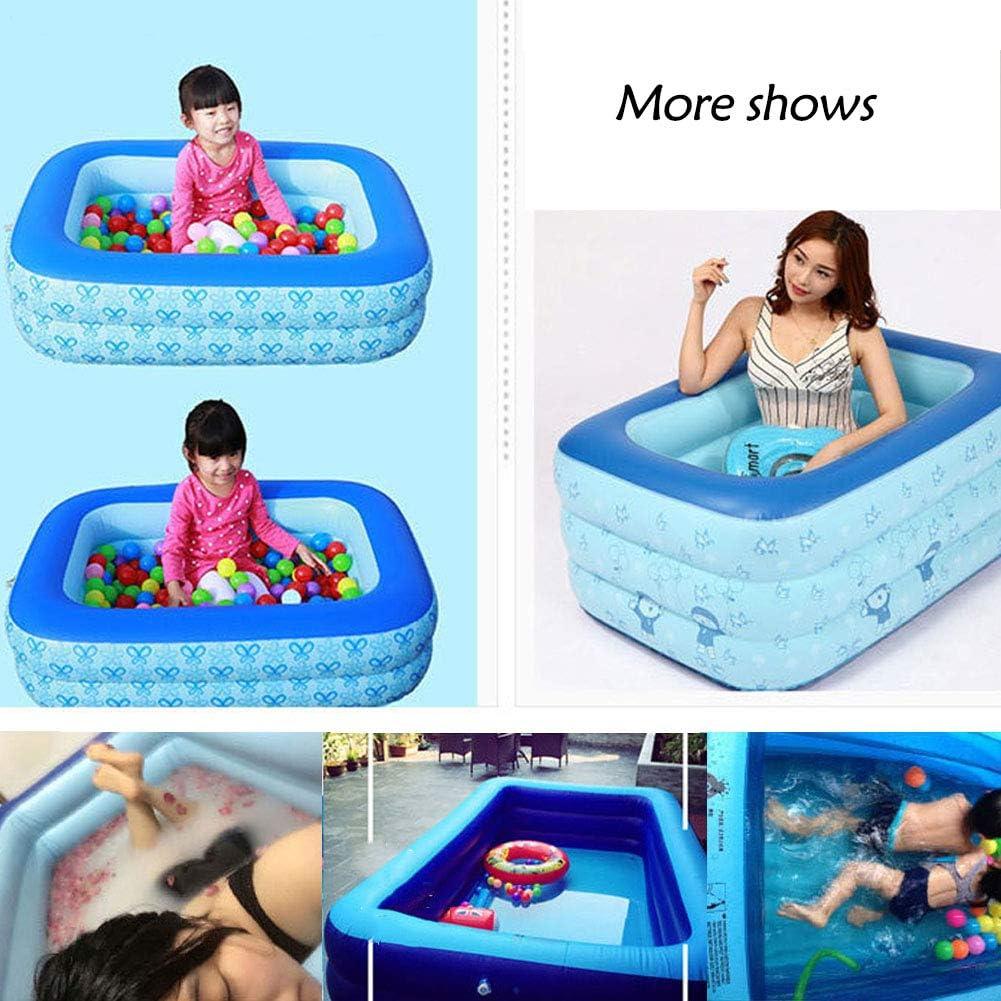 JSIHENA Piscina Inflable niños bañándose Piscina bañera Inflable ...