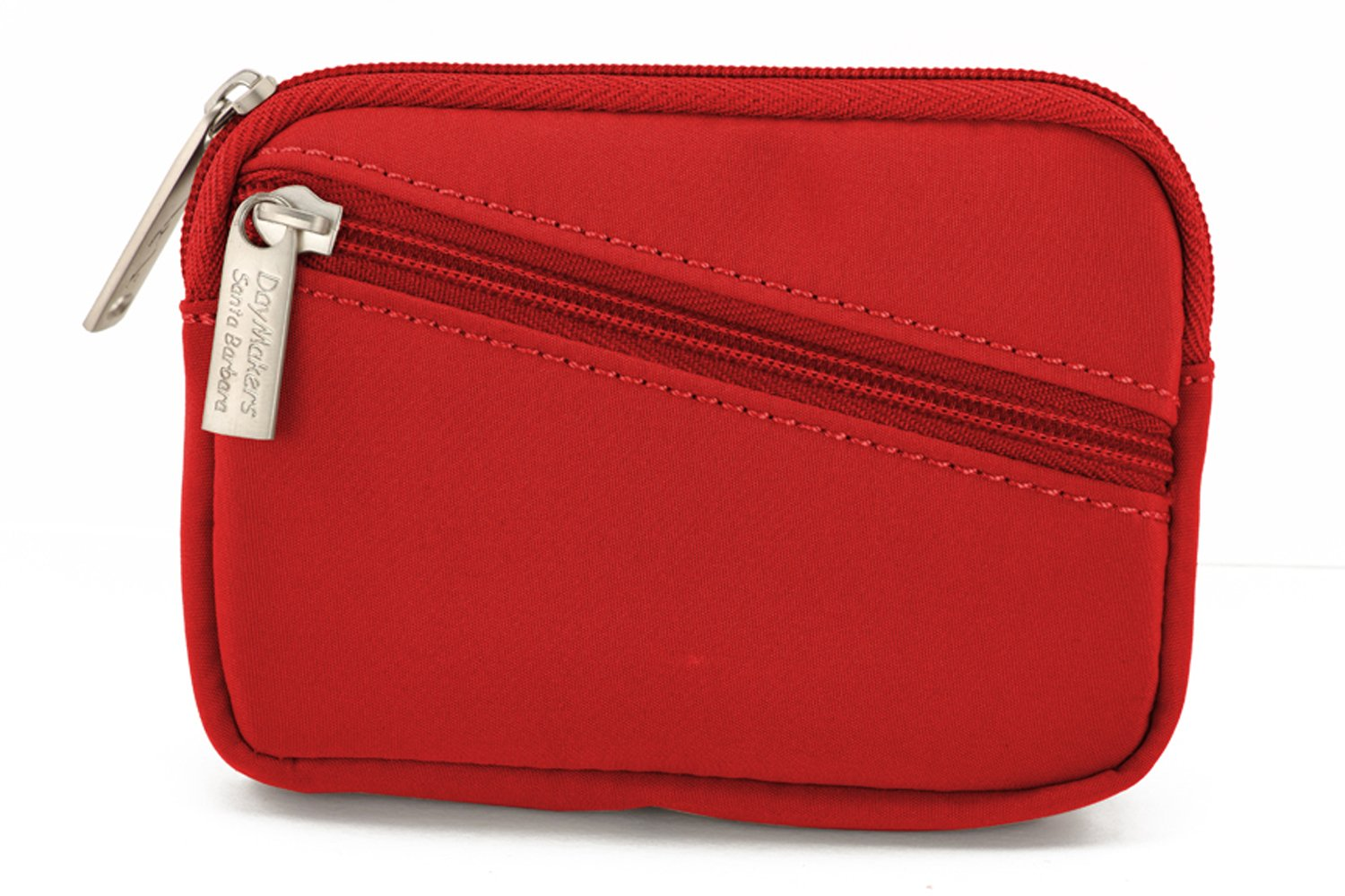 Be Safe The DayMaker Security Wallet with Diagonal Zipper