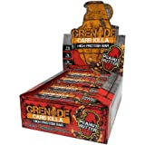 Grenade Carb Killa High Protein and Low Sugar Candy Bar, 12 x 60 g - Peanut Nutter