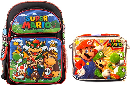 Officially Licensed Super Mario Assorted Backpack Rolling Bags FREE SHIPPING