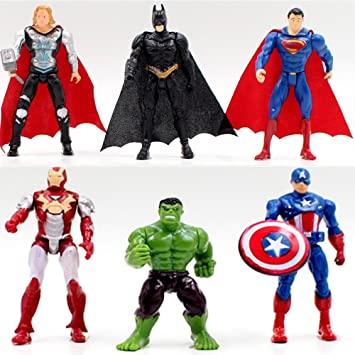 Avengers Spiderman Iron Man Actionfiguren Marvel Kinder Spielzeug Geschenk Gift