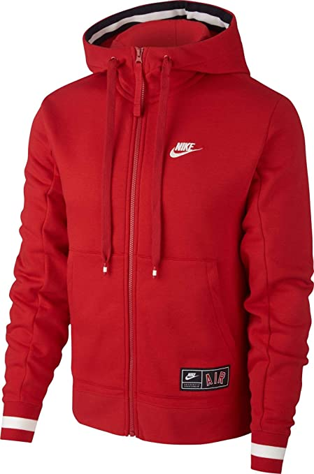 sweat nike air sportswear rouge