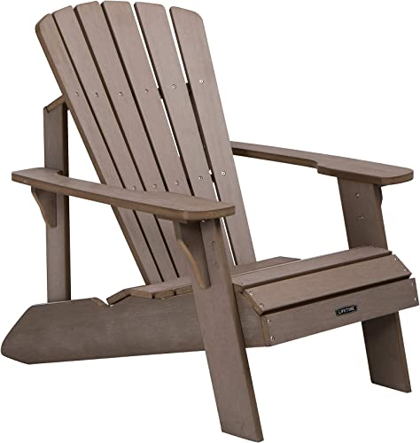 Lifetime 60283 Adirondack Chair, Light Brown