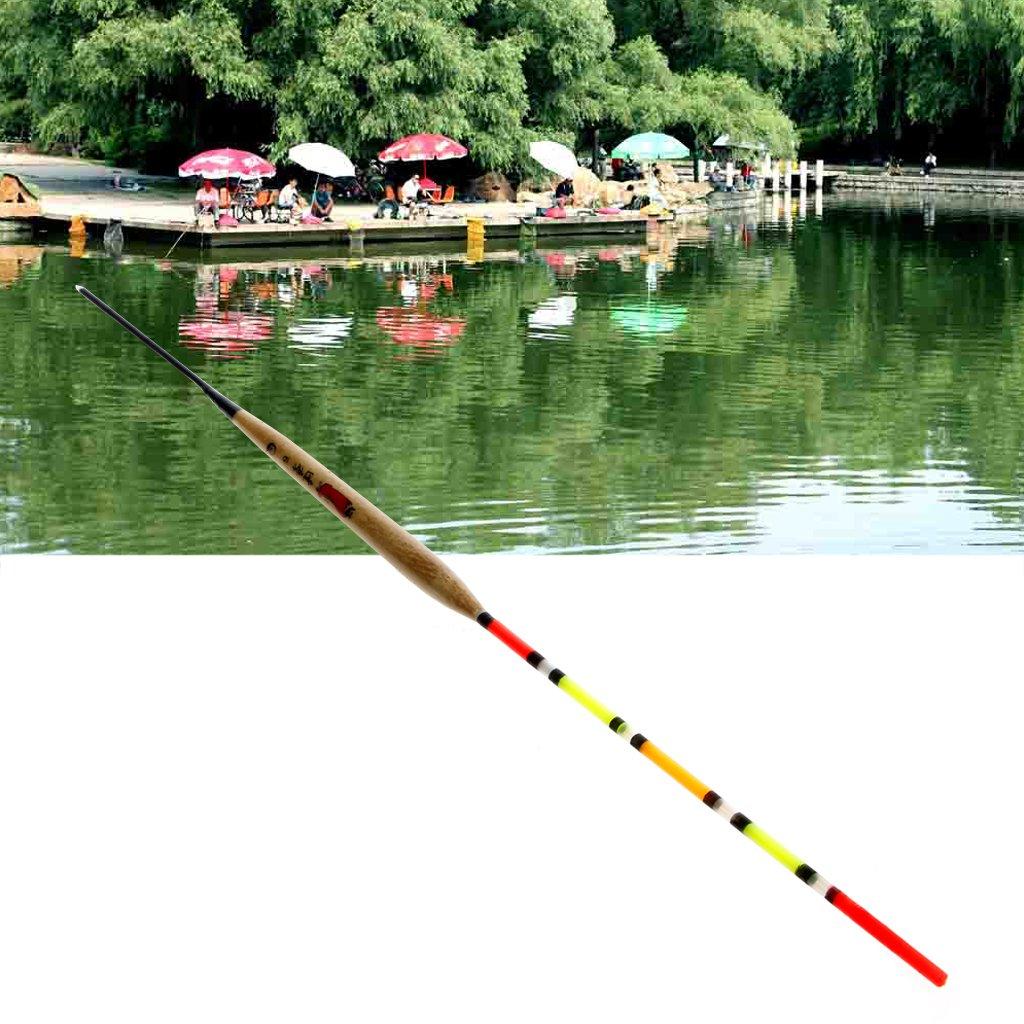10Pcs Wood Fishing Float Tank Slip Drift Tube Bobber Fishing Tackle Tool New