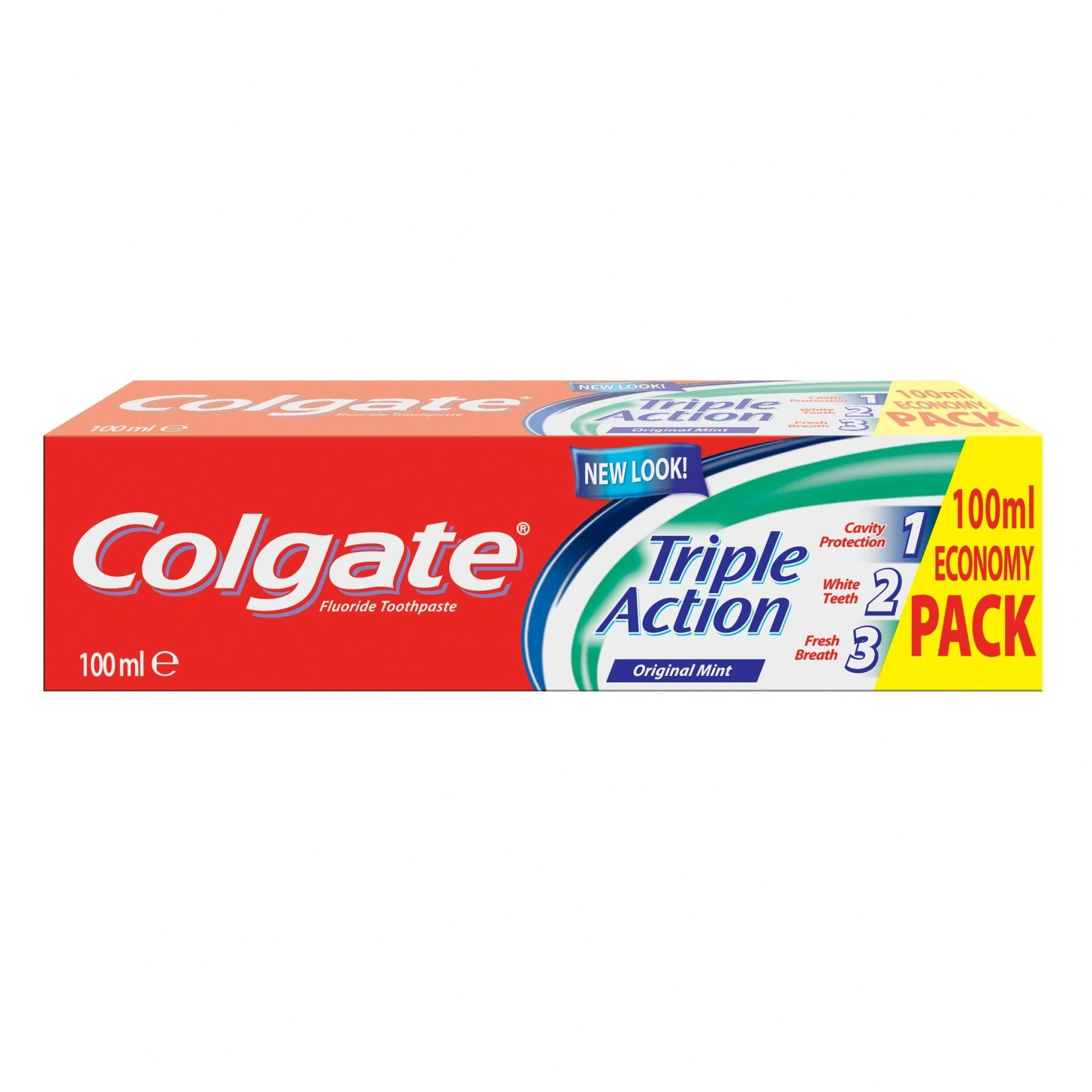 Colgate Triple Action Toothpaste, 100 ml