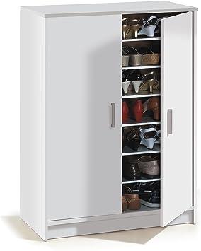 Habitdesign 007853O - Mueble zapatero Basic, mueble zapatero auxiliar medidas: 1,01 x 75 x 36 cm fondo: Amazon.es: Hogar