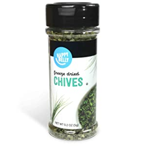 Amazon Brand - Happy Belly Chives, Freeze Dried, 0.2 Ounces