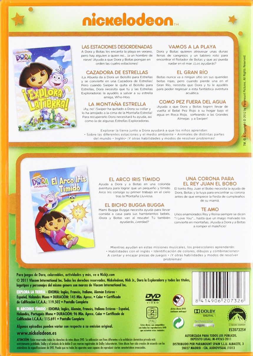 Amazon.com: Dora Pack Naturaleza-Edición Limitada (Import Movie) (European Format - Zone 2) (2012) Henry Madden; Gary C: Movies & TV