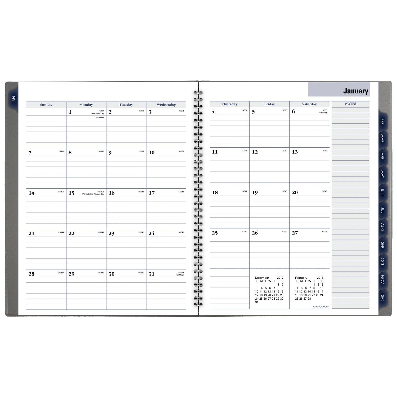 Einen Blick DayMinder Monatsplaner, Januar 2018 – Dezember 2018, 2018, 2018, 8–1 5,1 x 27,9 cm Farbe wird variieren (gc47010) B071R7FKT4     | Qualitätsprodukte  c9efbd