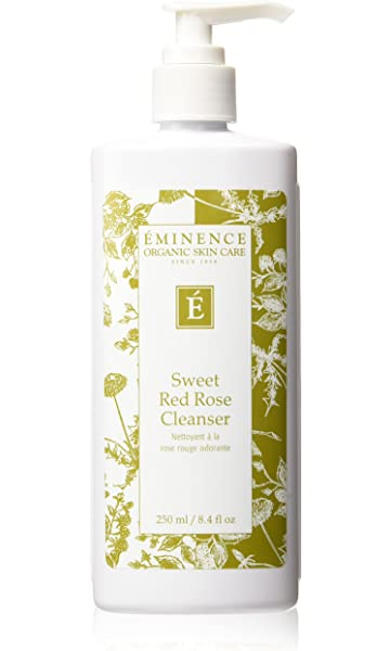 Eminence Calm Skin Chamomile Cleanser 32 oz - Pro Size with Pump Refine Sheer Hydration SPF35 1.75oz