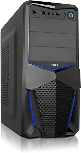 Nox PAX - NXPAX - Caja PC, ATX, USB 3.0, Color Negro Azul: Nox ...