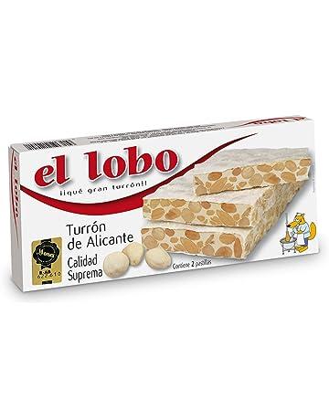 Turrón De Alicante El Lobo 250G: Amazon.es: Alimentación y ...