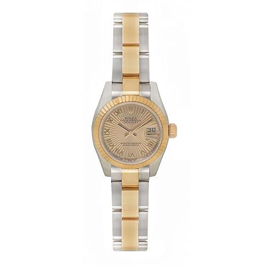 Rolex Datejust automatic-self-wind - Reloj 179173 (Certificado) de segunda mano: Rolex: Amazon.es: Relojes