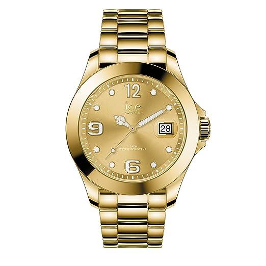 Ice-Watch Reloj Analógico para Mujer de Cuarzo con Correa en Acero Inoxidable 16777: Amazon.es: Relojes