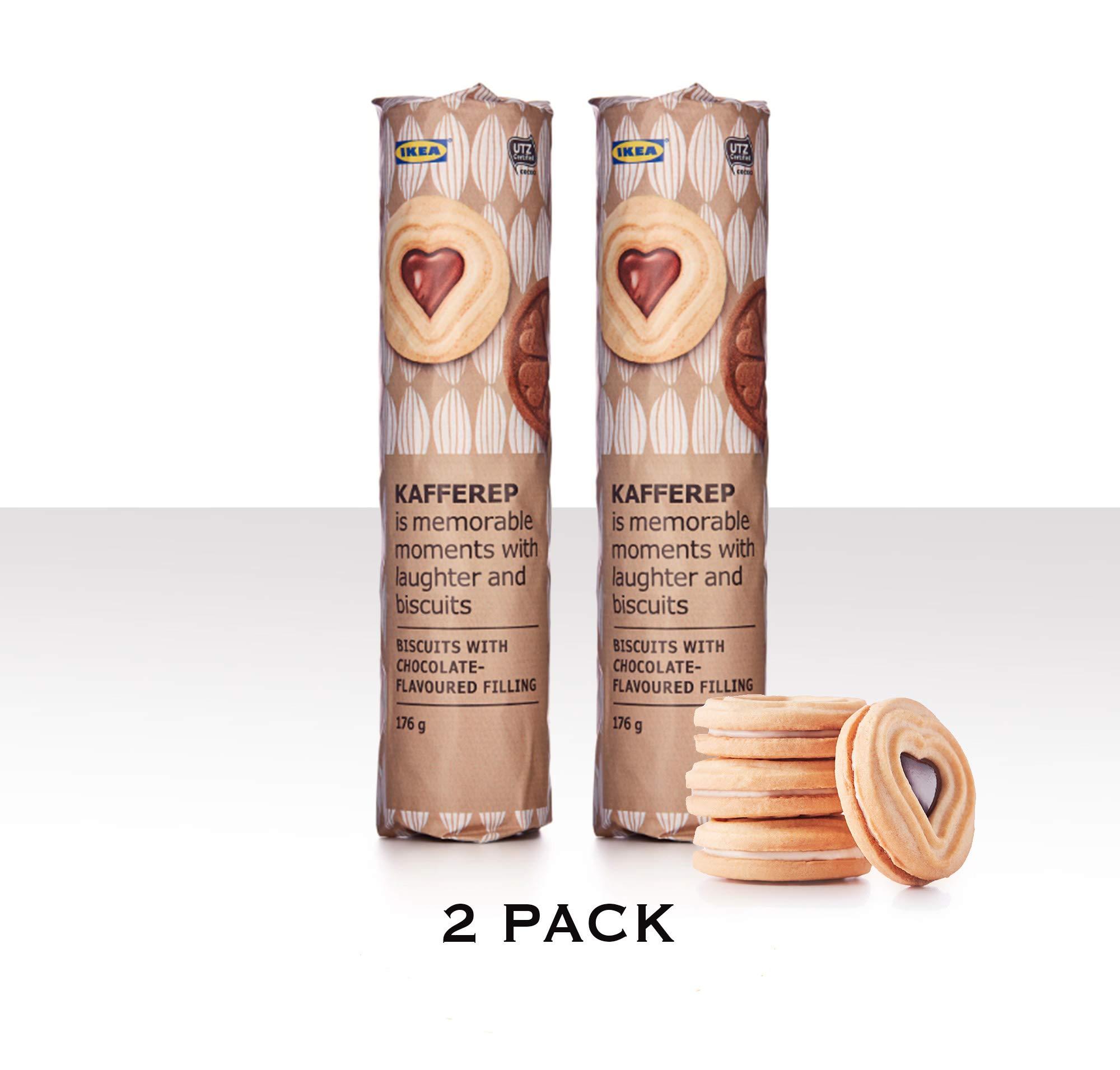 Amazoncom Ikea Kafferep Two Pack 62oz Cookie Sweet Shortbread
