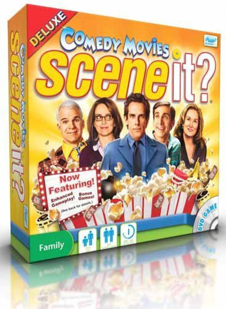 Scene It? Comedy Movies Deluxe Edition Screen Life LE1008 NEW-876284002081-3pMM