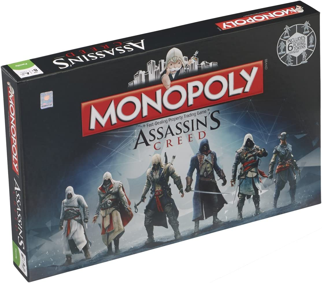 Monopoly Assassins Creed: Amazon.es: Juguetes y juegos