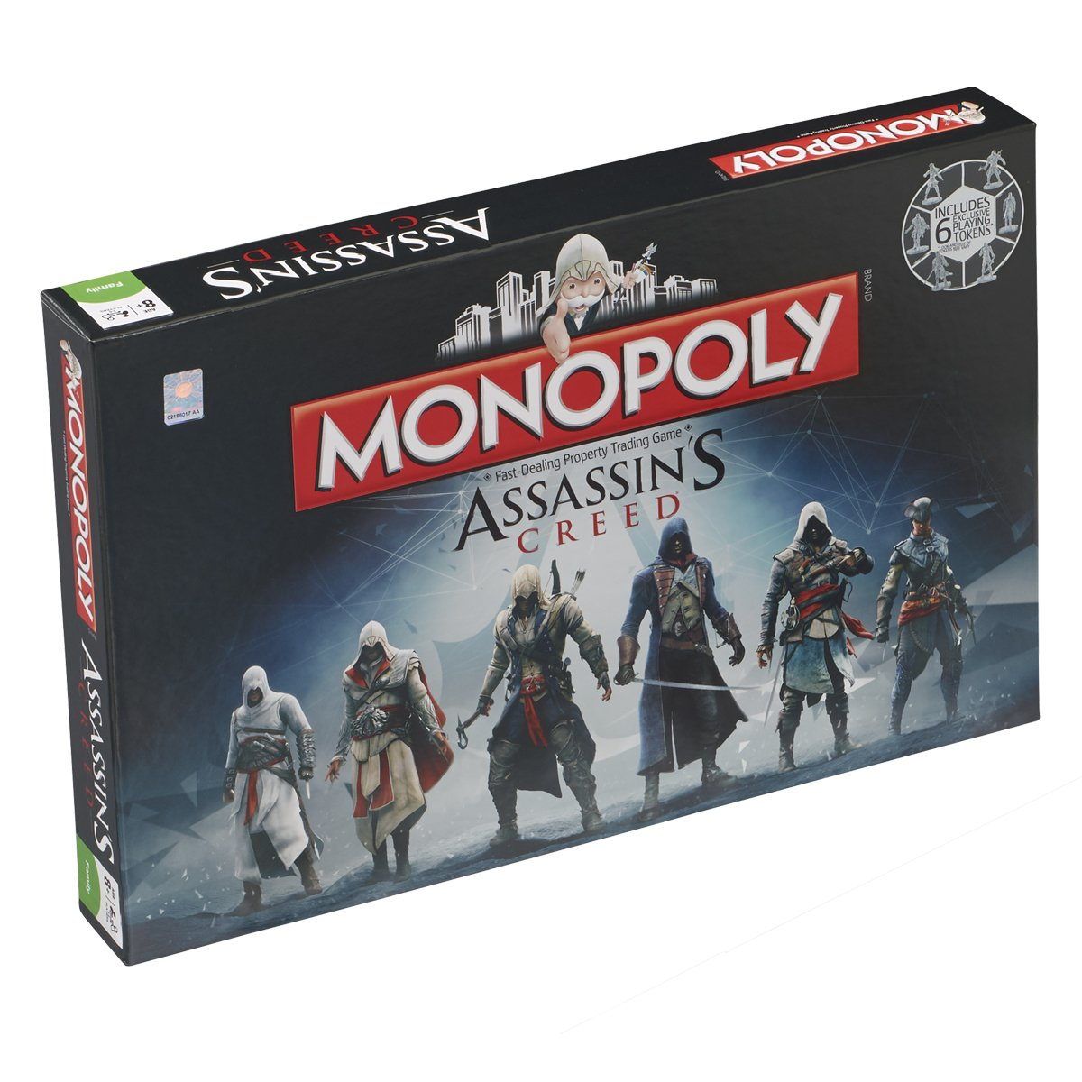 Assassins Creed Winning Moves Monopoly Game