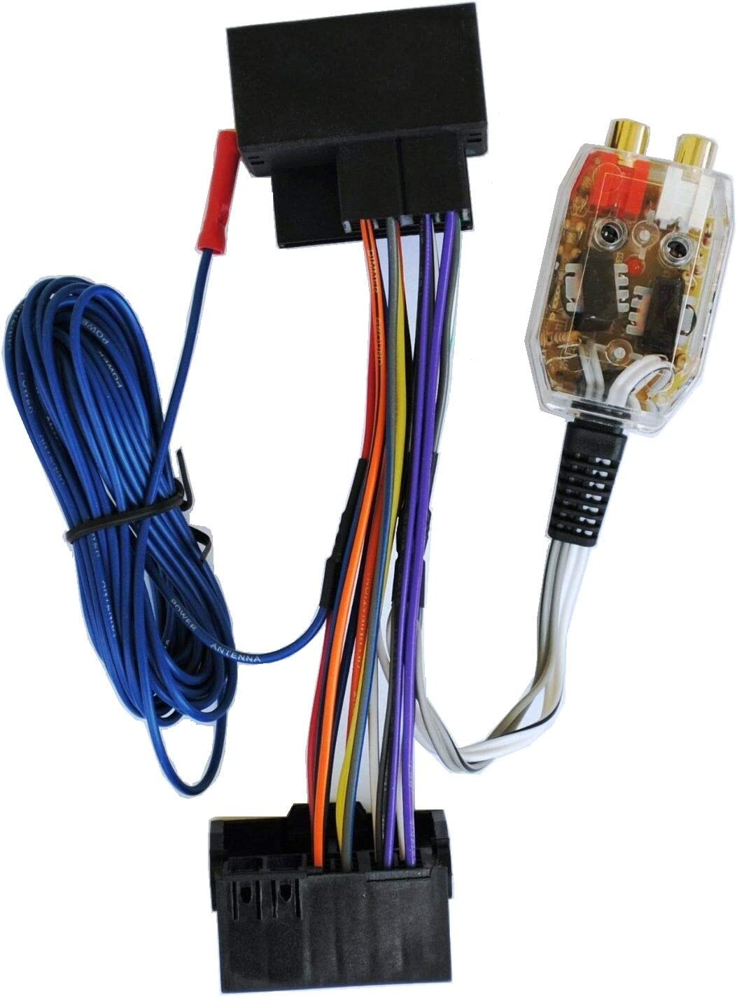 Amazon.com: Factory Radio Add A Amp Amplifier Sub Interface Wire Harness  Inline Converter: Car ElectronicsAmazon.com