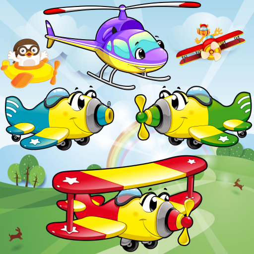 Airplane Games for Toddlers and Kids : discover the air vehicles and planes ! FREE (Propeller Bubble)