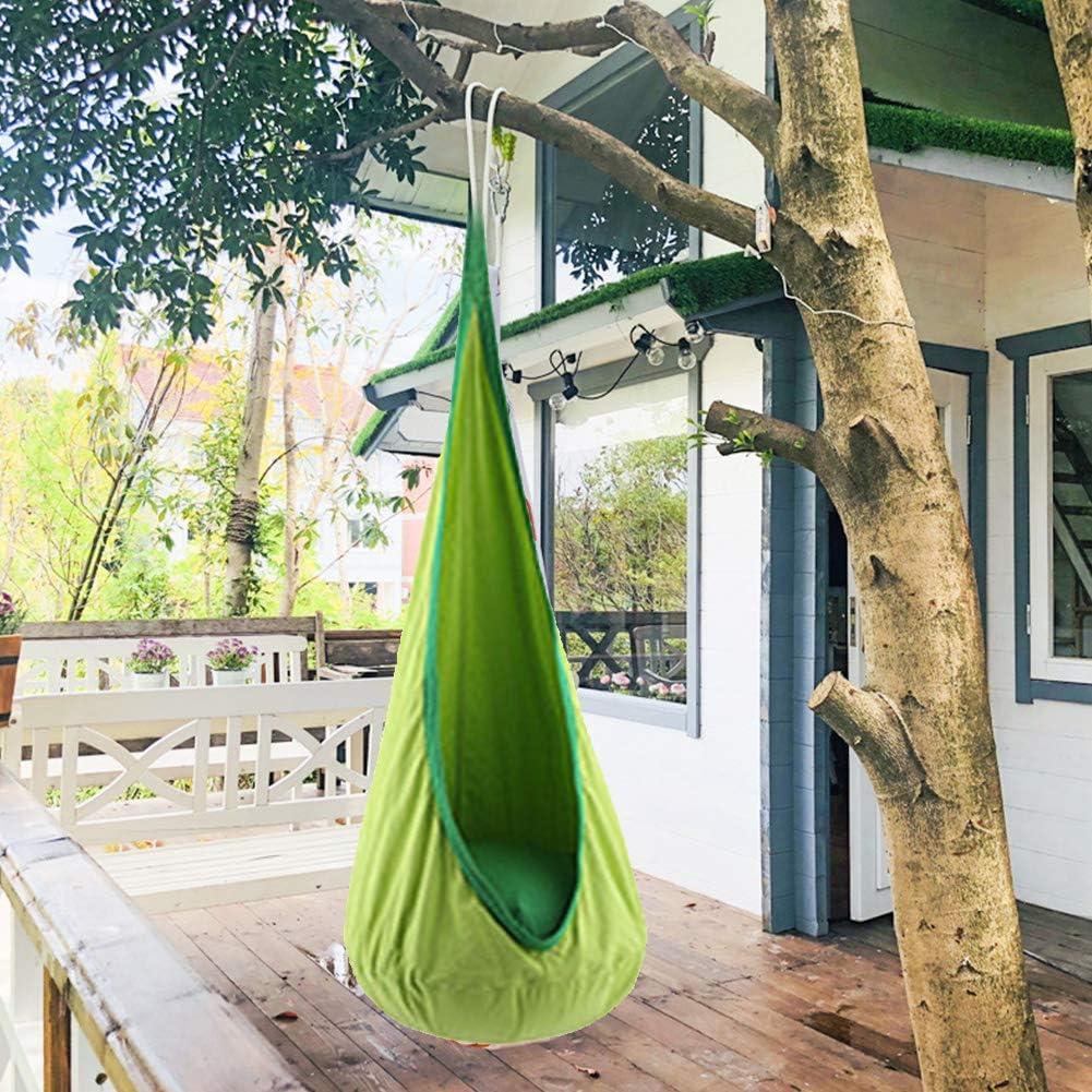 hamaca Mokia para el hogar para interiores y exteriores para ni/ños Hamaca para ni/ños