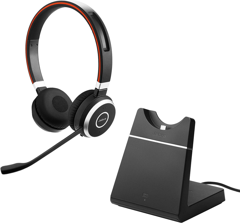 schwarz Jabra Evolve2 65 Headset USB-A UC