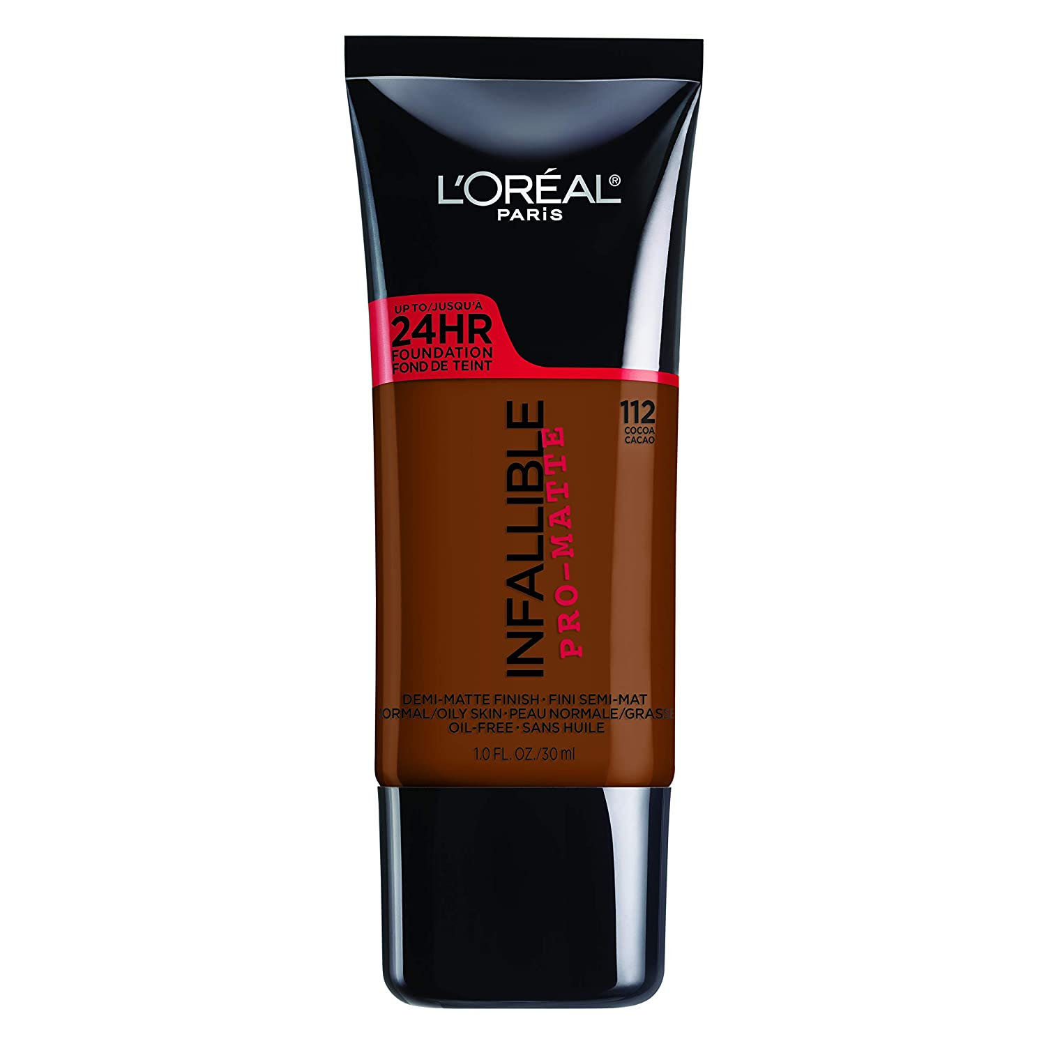 L'Oreal Paris Infallible Pro-Matte Foundation, Cocoa [112] 1 oz