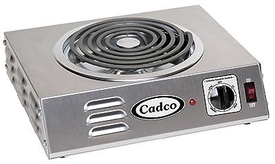 Cadco Csr-3t Blat kuchenny Hi-Power Pojedyncza płyta grzejna 120 Volt