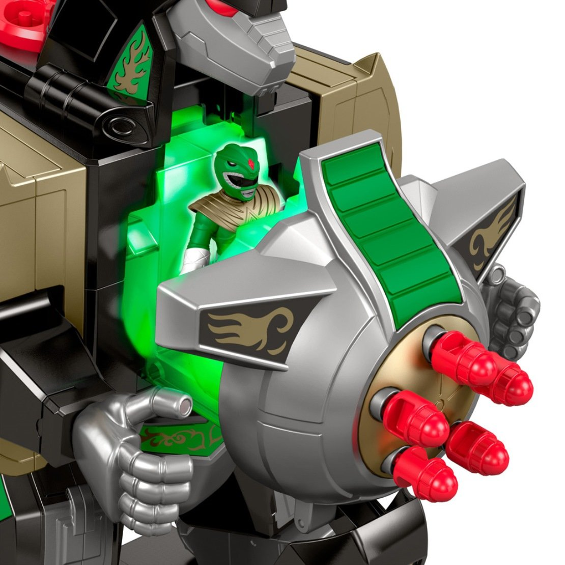 Fisher-Price Imaginext Power Rangers Green Ranger /& Dragonzord Rc