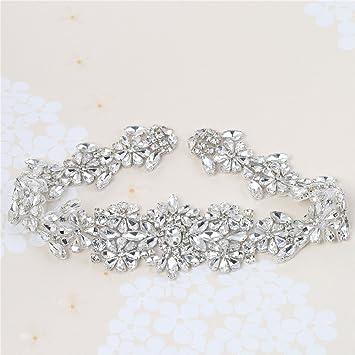 Perlen Vintage Strass Applique Gürtel mit Kristallen für DIY Kleider ...