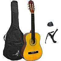 Gitara klasyczna Junior firmy Rocket w zestawie startowym dla początkujących, rozmiar 1/2, gitara akustyczna z…