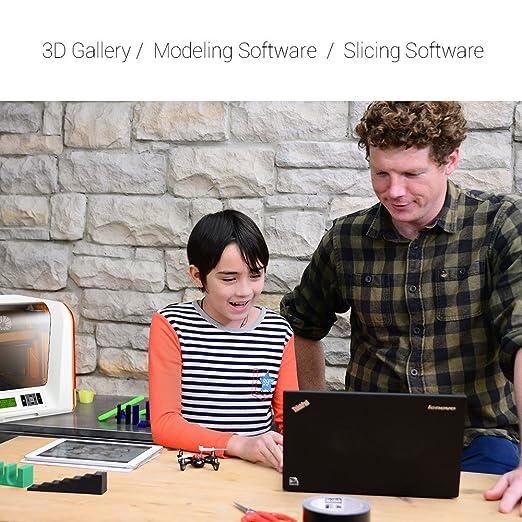 XYZ Printing Impresora 3D da Vinci Jr. 1.0 (totalmente ensamblada ...