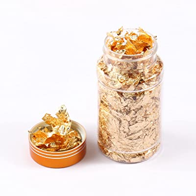 Gold Foil Flakes For DIY Nails Painting Resin Jewelry Making Craft Decoration