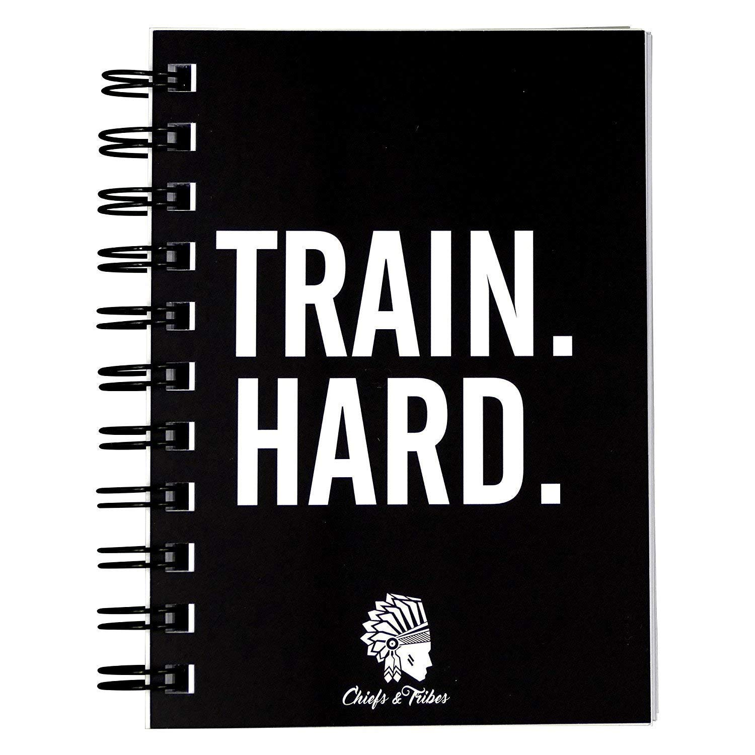 Chiefs & Tribes Fitness Planner I Workout Journal for 200 Workouts I Undated Gym Log Book I Fitness Logbook I Thick…