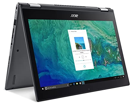Acer Spin 5 SP513-52N-58WW, 13.3 Full HD Touch, 8th Gen Intel Core i5-8250U, Amazon Alexa Enabled, 8GB DDR4, 256GB SSD, Convertible, Steel Gray