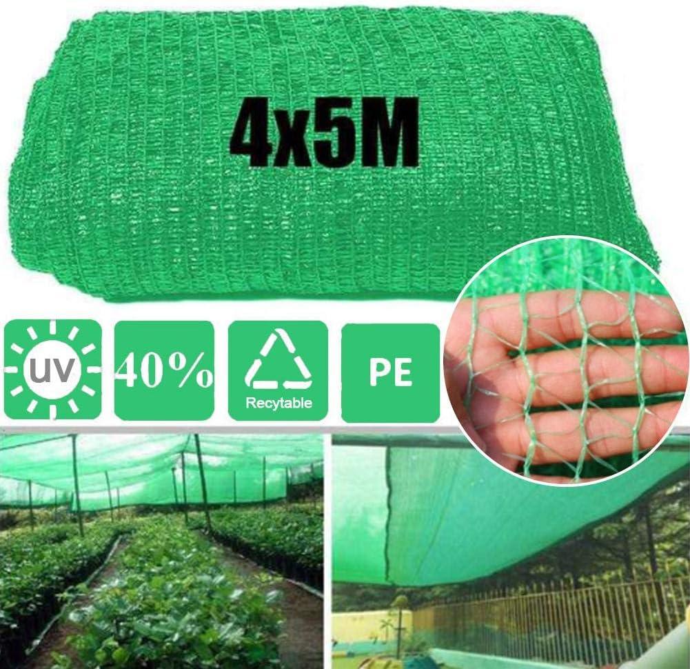 4X5M Grow Tunnel Net Cobertura De La Planta Al Aire Libre Sombrilla Net Visera De Protección Solar Invernadero Cubierto De Plantas Jardín Terraza Huerta Accesorios Para Plantas De Flores De Jardín