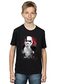 Star Wars Boys The Last Jedi Porgs Brushed T-Shirt