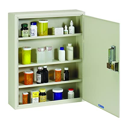 STEELMASTER Medical Security Cabinet With Simplex Combination Lock, Putty  (2019075S89)