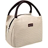 Insulated Lunch Bag For Women Reusable Lunch Tote Cooler Bag Handbag For Women Adults Kids OZCHIN