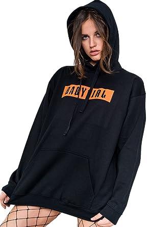 Minga London Babygirl Hoodie Sweater Jumper Sweatshirt Top Women S