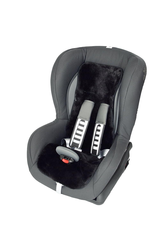 Leibersperger Felle Lammfellauflage Kindersitzeinlage (75x28 cm) (Sekt)